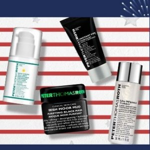 From $2.50Travel Size Sale @ Peter Thomas Roth