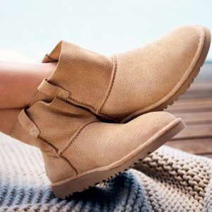 ugg unlined perforated boot