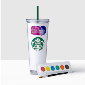 Watercolor Create Your Own Cold Cup, 24 fl oz