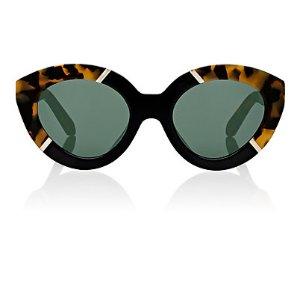 Karen Walker Alternate Fit Flowerpatch Sunglasses | Barneys Warehouse