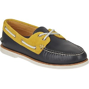 Gold Cup Authentic 2-Eye Original Chevre Boat Shoe