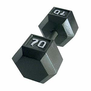 As low as $0.69 per LbCAP Barbell Solid Hex Dumbbell, Single