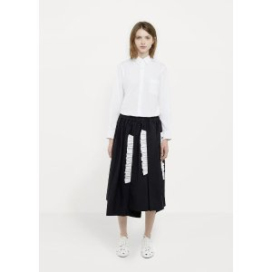 Tropical Wool Cotton Skirt by Comme des Garçons