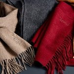 YSL Wool Cashmere Scarf