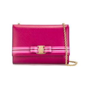 Salvatore Ferragamo Bow Detail Shoulder Bag - Farfetch
