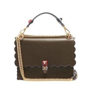 Kan I leather shoulder bag