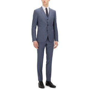 'Arvon/Wiant/Hilwert' | Slim Fit, Italian Virgin Wool 3-Piece Suit
