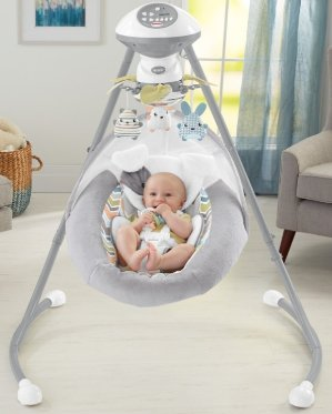 $88.94Fisher-Price Sweet Snugapuppy Dreams Cradle 'n Swing
