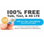 FreedomPop 无限量通话+短信+2GB流量 1个月试用