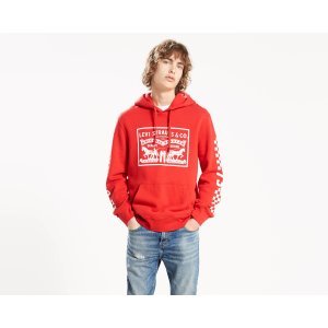 Graphic Pullover Hoodie | Cherry Bomb Checker |Levi's® United States (US)