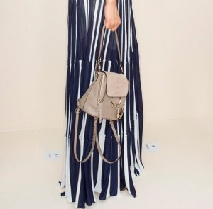 £809.87CHLOÉ FAYE MINI LEATHER AND SUEDE BACKPACK @ Net-A-Porter UK