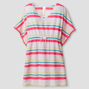 Girls' Kaftan Cover Up Cat & Jack™ - Neon : Target