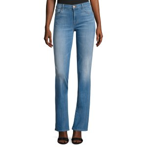 Brya Mid Rise Boot Cut Jeans by J Brand at Gilt