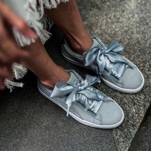 Basket Heart Metallic Safari Women's Sneakers