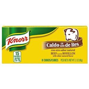 $0.65Knorr Cube Bouillon, Beef 3.1 oz, 8 ct