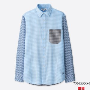 MEN JWA EXTRA FINE COTTON BROADCLOTH LONG-SLEEVE SHIRT
