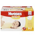 Huggies Little Snugglers纸尿裤(新生儿,1和2号尺寸)