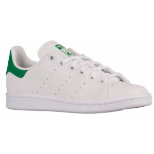 adidas Originals Stan Smith - Boys' Grade School - Casual - Shoes - White/White/Green