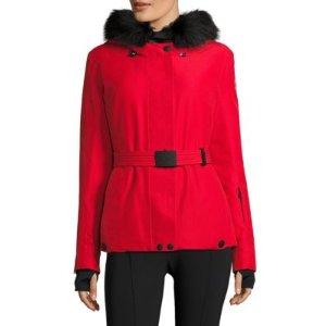 Laplance Fur Hood Jacket