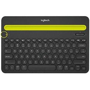 $19.99 (原价$49.99)Logitech K480 无线键盘 支持 Windows/ Mac/ Android/ IOS