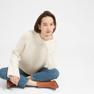 The Wool-Cashmere Square Crew