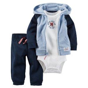 Baby Boy 3-Piece Babysoft Little Jacket Set | Carters.com