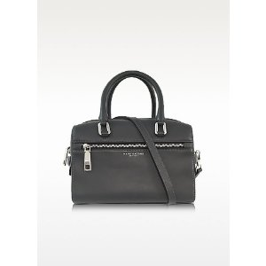 Marc Jacobs West End Storm Grey Leather Small Bauletto at FORZIERI