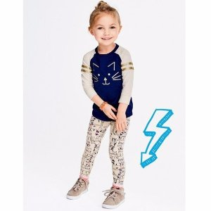 Extra 20% Off $40+50% Off First-day Faves Sale @ OshKosh BGosh