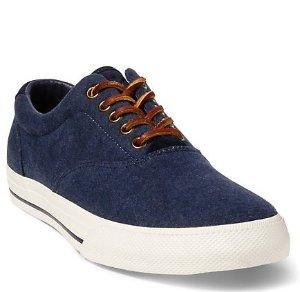Up to 65% Off + Extra 30% OffMen's Sneaker Sale @ Ralph Lauren