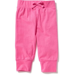 Jersey Tapered-Leg Capris for Toddler Girls | Old Navy