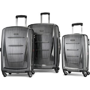 Samsonite Winfield 2 Fashion Hardside 3 Piece Spinner Set - Charcoal (56847-1174 43202573149 | eBay