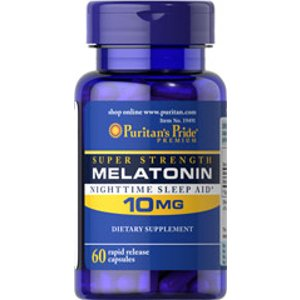Melatonin 10 mg 60 Capsules | Top Sellers | Puritan's Pride