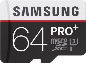 $24.99(原价$89.99)Samsung PRO+ 64GB U3 90MB/s microSDXC 存储卡