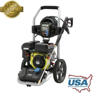 Ryobi 3,100-PSI 2.5-GPM 212cc Gas Pressure Washer with Idle Down-RY80544 - The Home Depot