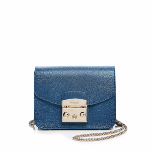 Metropolis Mini Leather Crossbody