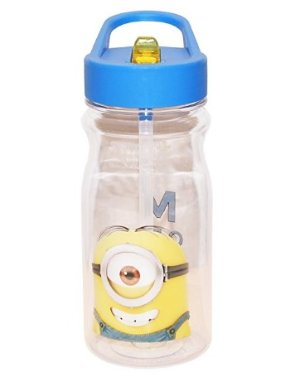 Zak! Designs Tritan Water Bottle with Despicable Me 2 Minions Graphics