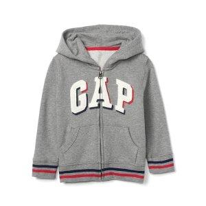 Shadow logo zip hoodie