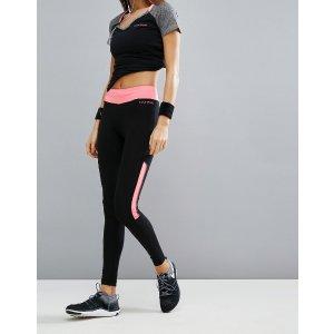 Elle Sport Knee Panel Gym Leggings