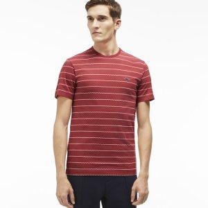 Men's Jacquard Stripe T-Shirt | LACOSTE
