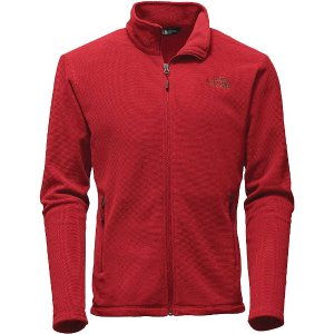 The North Face Men's Texture Cap Rock Full Zip Jacket - at Moosejaw.com