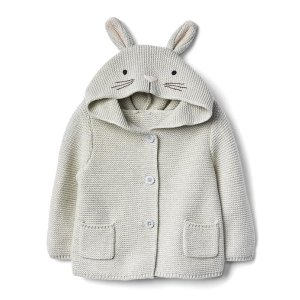 Bunny garter sweater