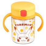 Richell Pikachu Straw Cup with Dual Handles @Amazon Japan