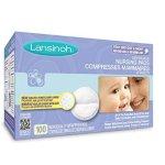 哺乳期妈妈必备~ Lansinoh Disp. 一次性防溢乳垫,100片
