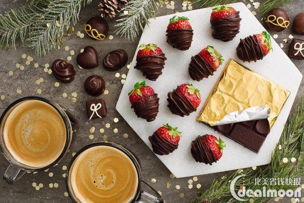除了巧克力这种太容易胖的食物以外还可以送一些其他的小甜点,小编