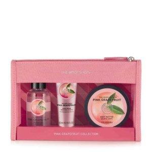 Pink Grapefruit Beauty Bag