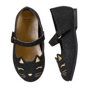 Sparkle Cat Flats