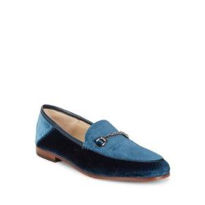 Loraine Velvet Loafers