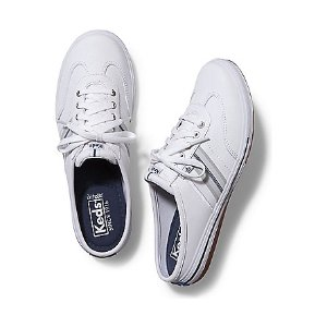 Women - VIRTUE LEATHER MULE - White | Keds
