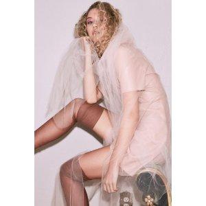 Melissa Vegan Leather Dress