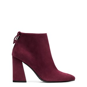 Grandiose Block Heel Booties - Shoes | Shop Stuart Weitzman